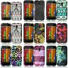 Multi-Colors Hard Shell Plastic Cover Snap-On Case For Motorola Moto G