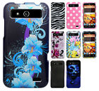 For Boost Mobile ZTE Speed N9130 Hard Protector Case Phone Cover + Screen Guard