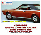 QA-968 1968-69 AMC - AMERICAN MOTORS - JAVELIN - RALLY STRIPE DECAL - ONE COLOR