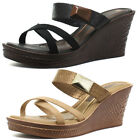 New Grendha Brasil Glamour Wedge Womens Sandals ALL SIZES AND COLOURS