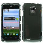For ZTE Rapido Z932C HARD Protector Case Snap On Phone Cover +Screen Protector