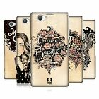 HEAD CASE DESIGNS INTROSPECTION HARD BACK CASE FOR SONY XPERIA Z1 COMPACT D5503
