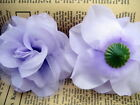 "6pcs Artificial rose Silk voile Flower Head Wedding bride party decor 3"" 7.5cm"
