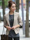 Fashion Spring Woman Outdoor Slim Fit Casual Jacket Blazer Suit Coat Tops