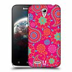HEAD CASE DESIGNS PSYCHEDELIC PAISLEY HARD BACK CASE FOR LENOVO A859