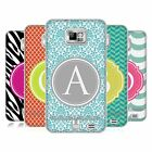 HEAD CASE LETTER CASES SILICONE GEL CASE FOR SAMSUNG GALAXY S2 II I9100