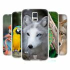 HEAD CASE FAMOUS ANIMALS SILICONE GEL CASE FOR SAMSUNG GALAXY S5