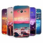 HEAD CASE WORDS SERIES 4 SILICONE GEL CASE FOR SAMSUNG GALAXY ACE NXT G313H DUAL