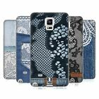 HEAD CASE JEANS AND LACES SILICONE GEL CASE FOR SAMSUNG GALAXY NOTE 4
