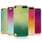 HEAD CASE WATERCOLOURED OMBRE SILICONE GEL CASE FOR APPLE iPOD TOUCH 5G 5TH GEN