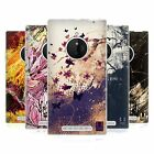 HEAD CASE FLORAL DRIPS SILICONE GEL CASE FOR NOKIA LUMIA 830