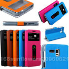 Doormoon Stand View Flip PU Leather Skin Cover Case For Lenovo A8 A806 A808T