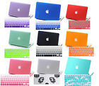 """Rubberized PC Hard Case US Keyboard Cover For Macbook  Air/ Pro 11""""13""""15""""inch"""