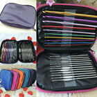 22pcs Set Multi-colour Aluminum Crochet Hooks Needles Knit Weave Craft Yarn Hot