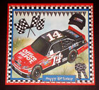 Handmade Greeting Card 3D All Occasion With A Nascar  Racing Car