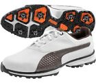Puma Titan Lite Mens Golf Shoes 187579-04 White Chestnut Black