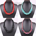 Fashion Womens Jewelry Geometric Turquoise Vintage Statement Bib Necklace Choker