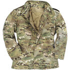 Mil-Tec Mens Urban Parka Combat M65 Army Jacket Tactical Hunting Coat Multitarn