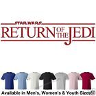Star Wars - Return of the Jedi Logo #1 T-Shirt Avail. in 7 Colors in M/W/Y Sizes