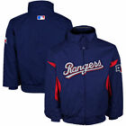 Majestic Texas Rangers Infant Authentic Performance Jacket - Royal Blue