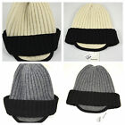 COUNTRY ROAD - Wool Peaked Beanie Cap Hat - Choose Colour - BNWT