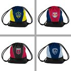 Choose Your MLS Soccer Team Sprint Series Draw String Back Pack Tote Bag