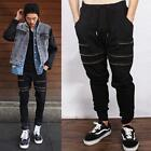 Cotton 2015 Ninja Zippers Casual Jogger Pants Harem Dance BBOY HIP POP Bottoms