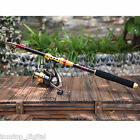 Telescopic Spinning Pole Saltwater Casting Sea Fishing Rods Super Tight Carbon