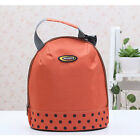 Insulated Lunch Bag Cool Tote Cooler Canvas Thermal Picnic Food Drinks Holder