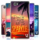 HEAD CASE WORDS TO LIVE BY SERIES 4 SILICONE GEL CASE FOR SONY XPERIA M C1904