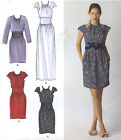 Misses Dress Sewing Pattern Midriff 2 Lengths Sleeve Variations Simplicity 2281