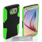 Yousave Accessories For The Samsung Galaxy S6 Tough Mesh Silicone Gel Case Cover