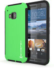 HTC One M9 Case | Ghostek BLITZ Ultra Slim Matte Shockproof Impact Hybrid Cover