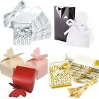 100x Romantic Wedding Engagement Party Sweet Cake Candy Favour Favors Gift Boxes