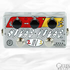 Zvex Vexter Super Duper 2-in-1 Boost & Overdrive Guitar Effects Pedal - VSD