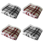 Catherine Lansfield Home Kelso Tartan Check Sherpa Throw, 150 x 200 Cm