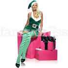 Womens Ladies Christmas Elf Fancy Dress Costume Leg Avenue Christmas NEW