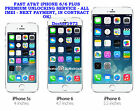 PREMIUM APPLE IPHONE 6 & 6 PLUS AT&T FACTORY UNLOCKING SERVICE ALL IMEI's