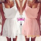 New Sexy Women's Casual Dresses Sleeveless Cocktail Short Girl Mini Dress Lady