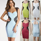 New Sexy Women Bodycon Wear To Work Evening Party Cocktail Tunic Pencil Dress