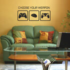 Gaming Wall Sticker - Choose Your Weapon Video Game Wall Sticker