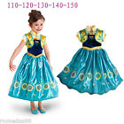 Внешний вид - Frozen Fever Birthday Party Anna Party Skirt Princess Cosplay Sunflower Dress