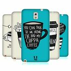HEAD CASE COFFEE FIX SILICONE GEL CASE FOR SAMSUNG GALAXY NOTE 3 N9000