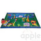 Alphabet Jungle Rectangle Rug - Carpets for Kids - Free Shipping