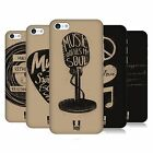 HEAD CASE DESIGNS POWER OF MUSIC HARD BACK CASE FOR APPLE iPHONE 5C