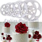 6pcs Rose Fondant Cake Cookie Mold Biscuit Decorating Cutter Sugarcraft Mould FZ