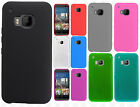 For HTC One M9 TPU CANDY Gel Flexi Skin Case Phone Cover Accessory +Screen Guard