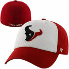Mens Houston Texans '47 Brand Red/White Classic Freshman Franchise Fitted Hat