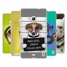 HEAD CASE FUNNY ANIMALS SILICONE GEL CASE FOR MICROSOFT LUMIA 535