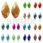 20pcs DIY Crystal Teardrop Top Drilled Fashion Jewelry Making Beads 6x12/8x13mm